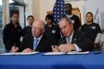 Secretary Salazar and Mayor Bloomberg