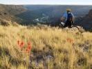 Biking at Rio Grande del Norte National Monument in New Mexico