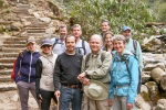 Secretary Jewell hiking with group