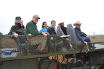 Sally tours Durando Cattle Ranch