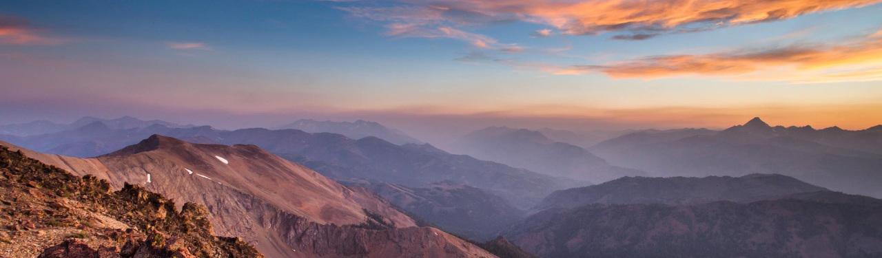 Jim McClure Jerry Peak Wilderness in Idaho