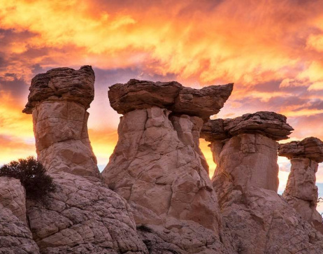 Image of the Grand Staircase Escalante National Monument in Utah