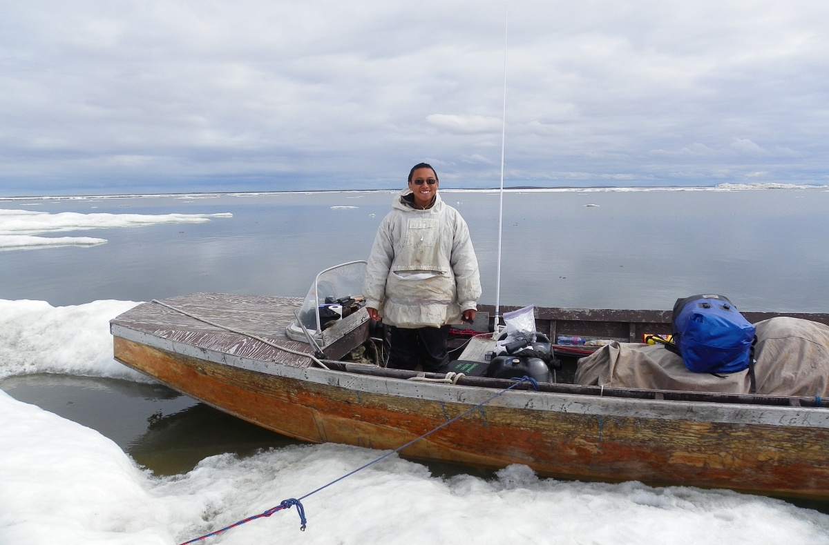 Esau Sinnok, Arctic Youth Ambassador in Shishmaref, Alaska
