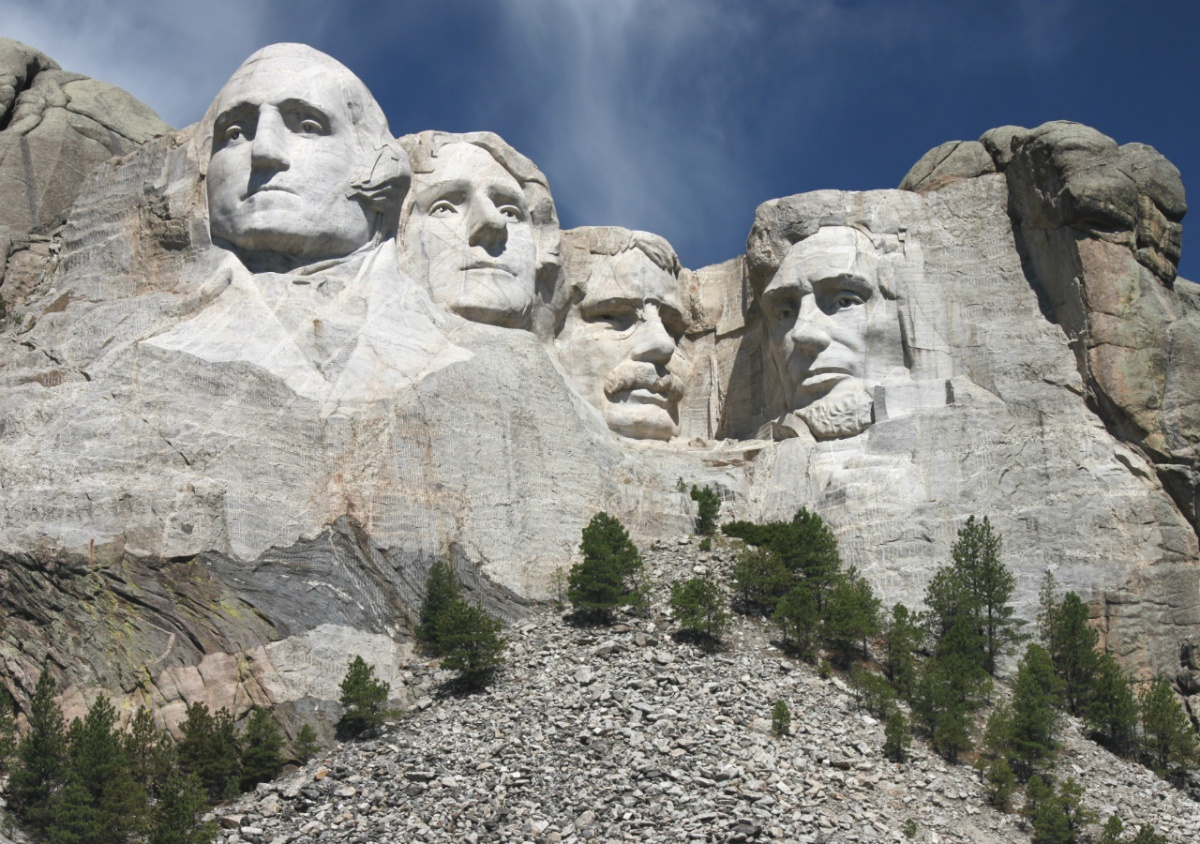 Mount rushmore national memorial a presidential tribute
