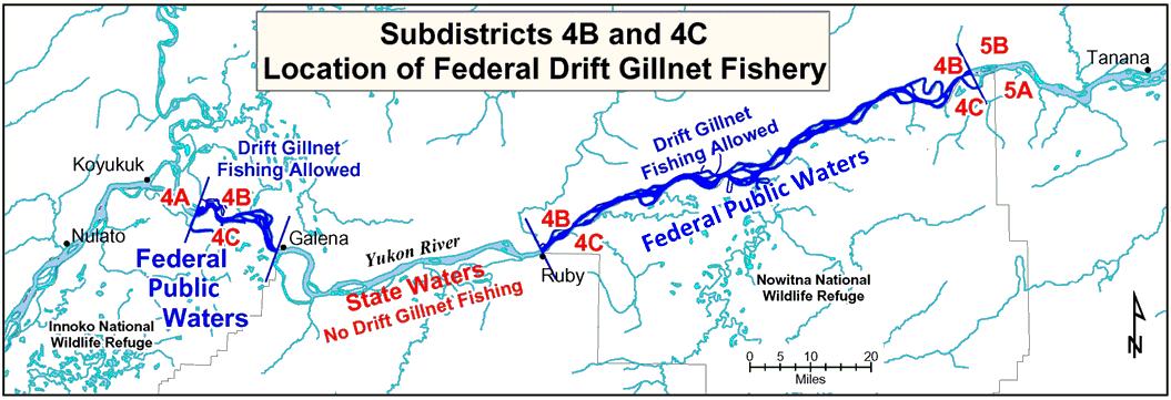 Yukon River Summer Salmon Fishery News Release - Yukon river on us map