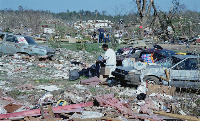 FEMA 1998. Tornado damage.