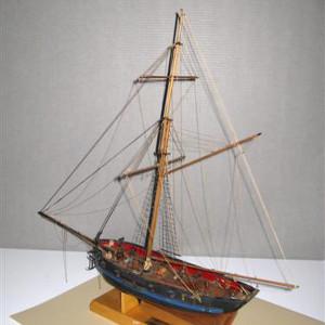A model of the ship United States Victory. (NPS)