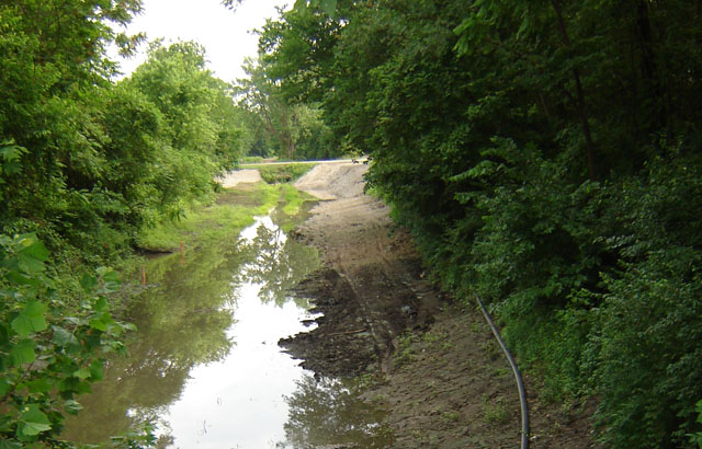 Dead Creek in the Village of Sauget, St. Clair County, Illinois